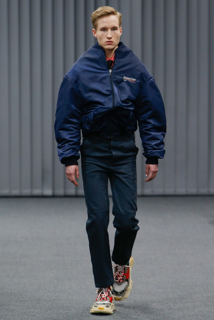 Balenciaga 2017 Fall Men's Collection