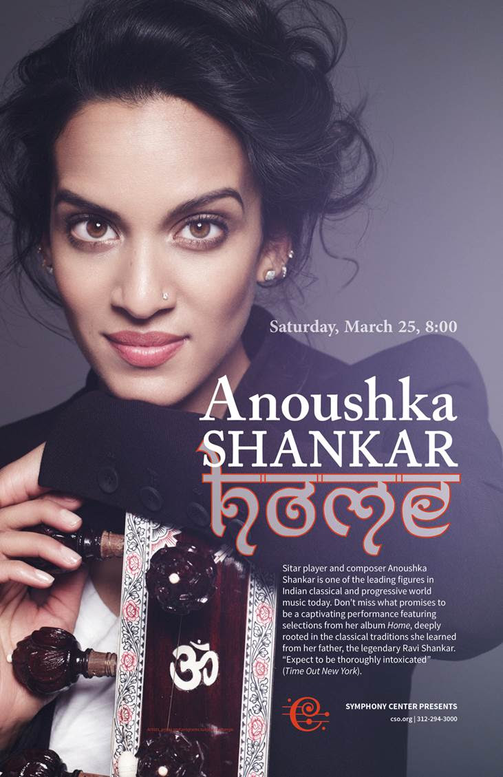 Anoushka Shankar at the CSO
